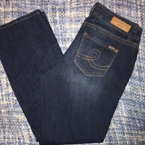 Melissa McCarthy Seven7 Classic Boot Cut Jeans.